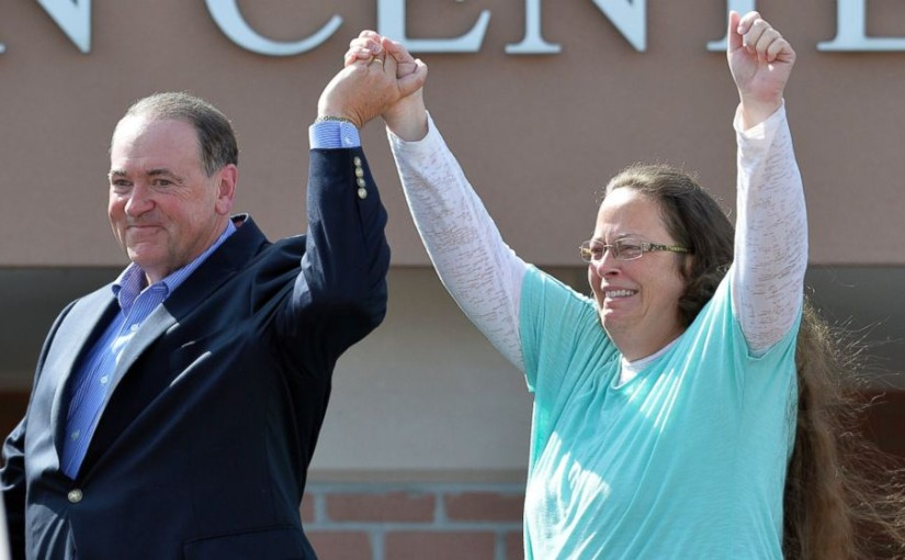 No, Kim Davis isn't a martyr. But legally, she's not wrong.